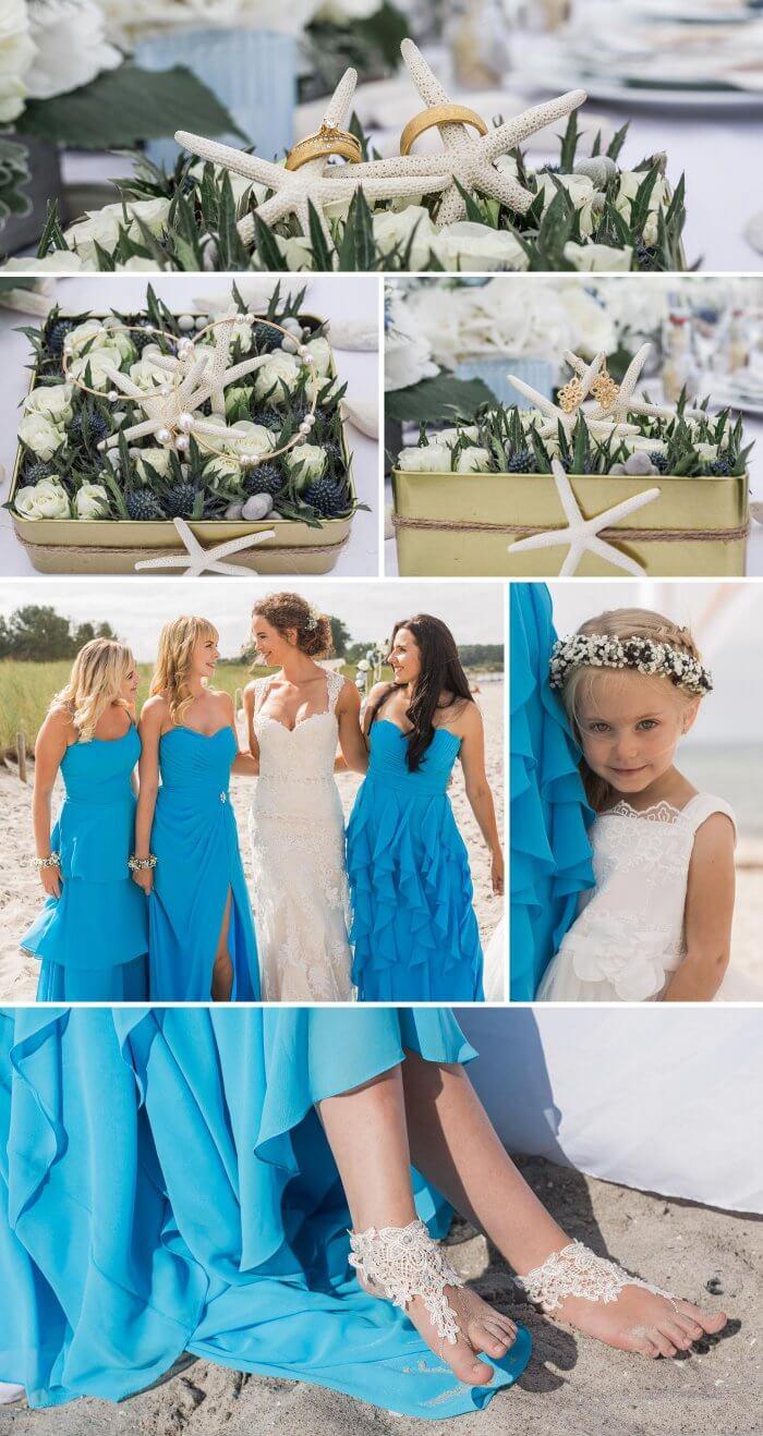 Hochzeit am Strand Ostsee