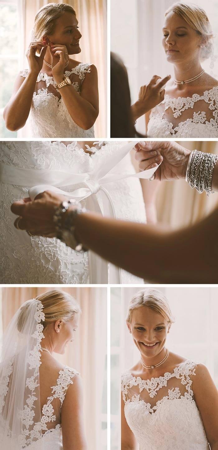 Braut Heiraten am Strand in Holland