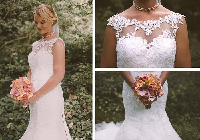 Brautkleid Spitze Hochzeit Holland