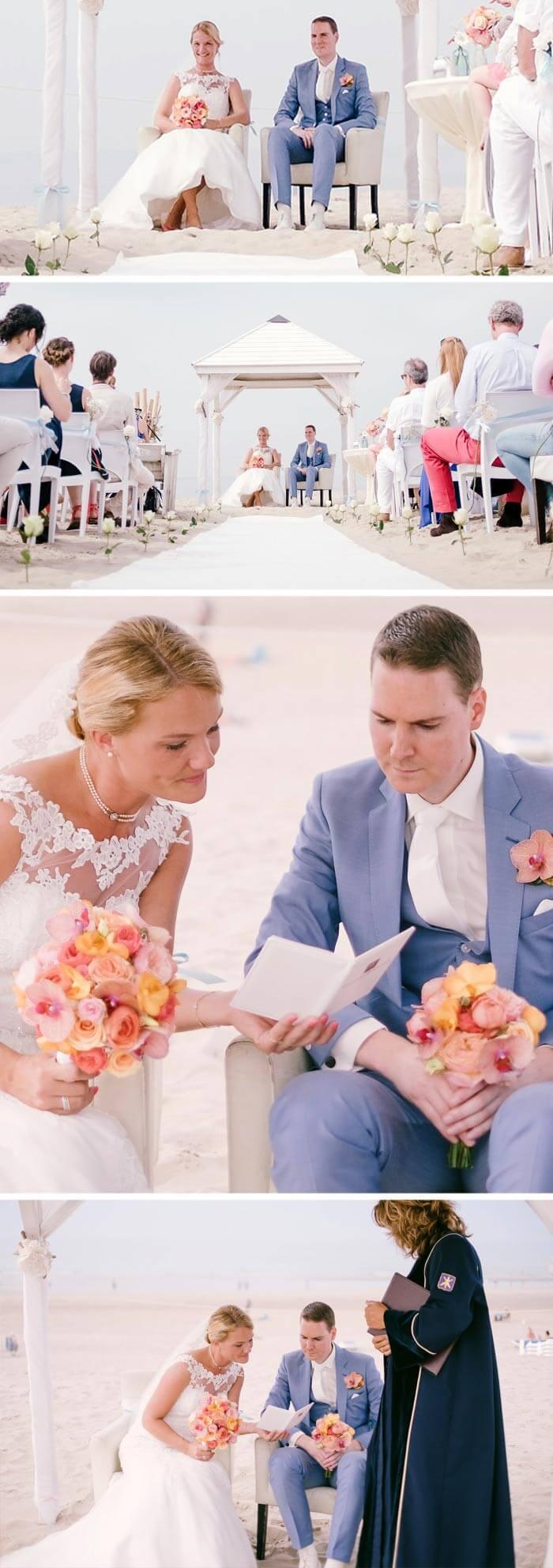 Heiraten in Holland am Strand