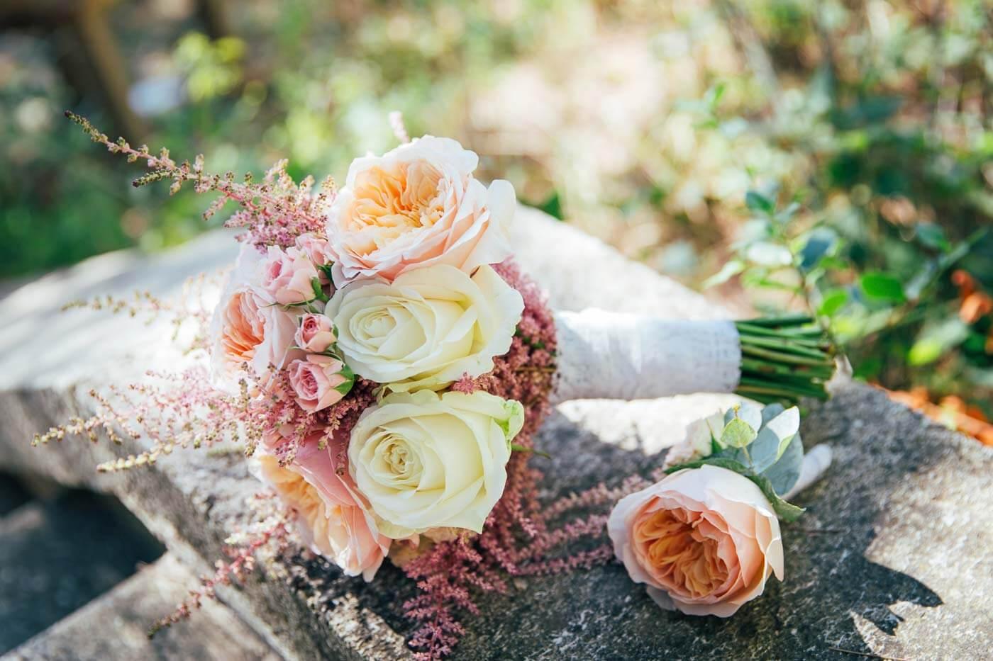 Herbstblumen Hochzeit