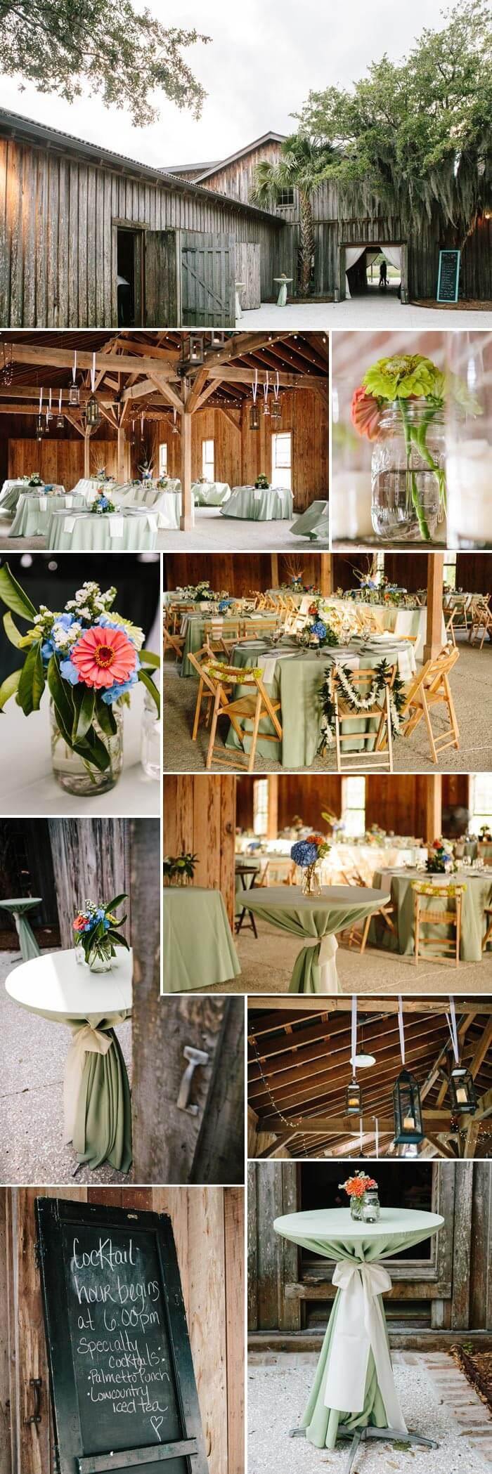 Hochzeit am See: Die Partyscheune