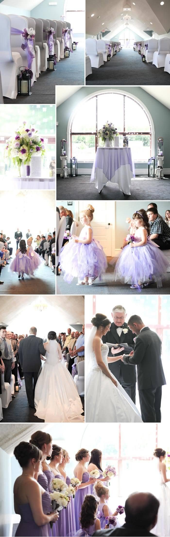 Flieder Hochzeit