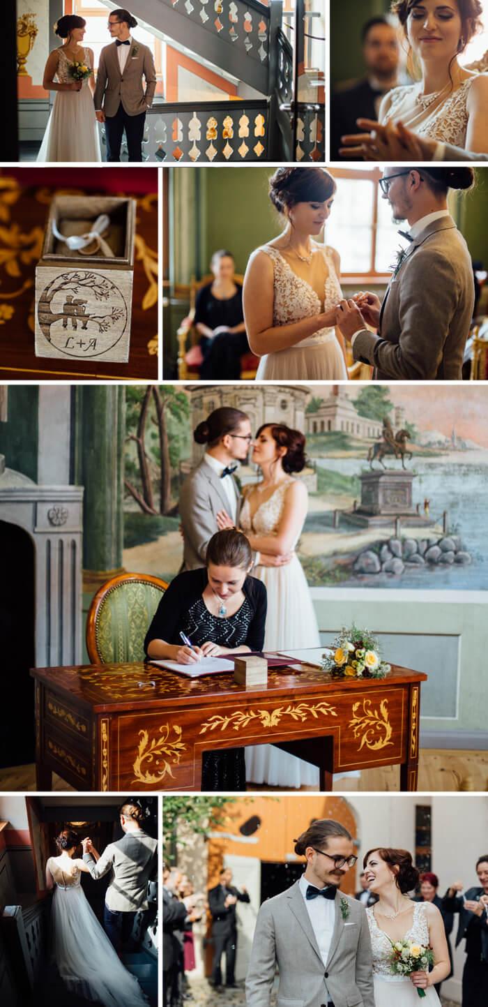 Lockere Hochzeit