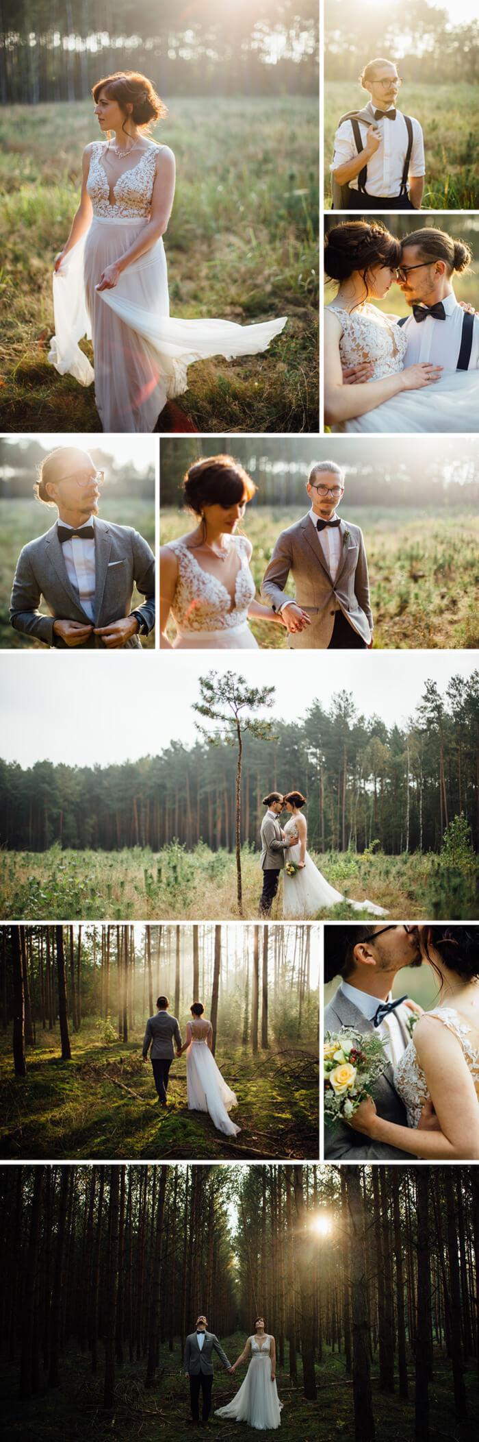 Lockere Hochzeitsfrisuren