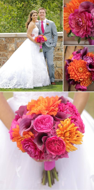 Hochzeit Pink