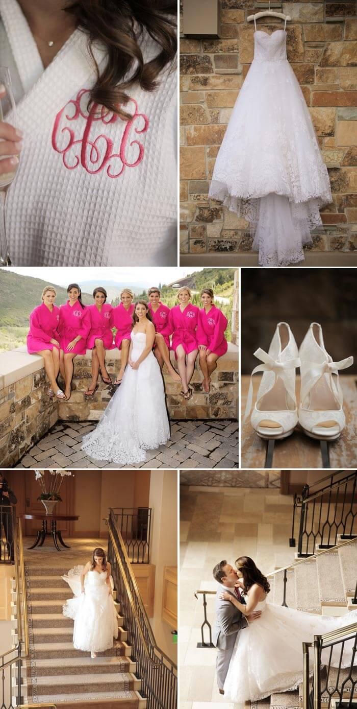 Pink Hochzeit