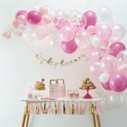 Pinke Luftballons