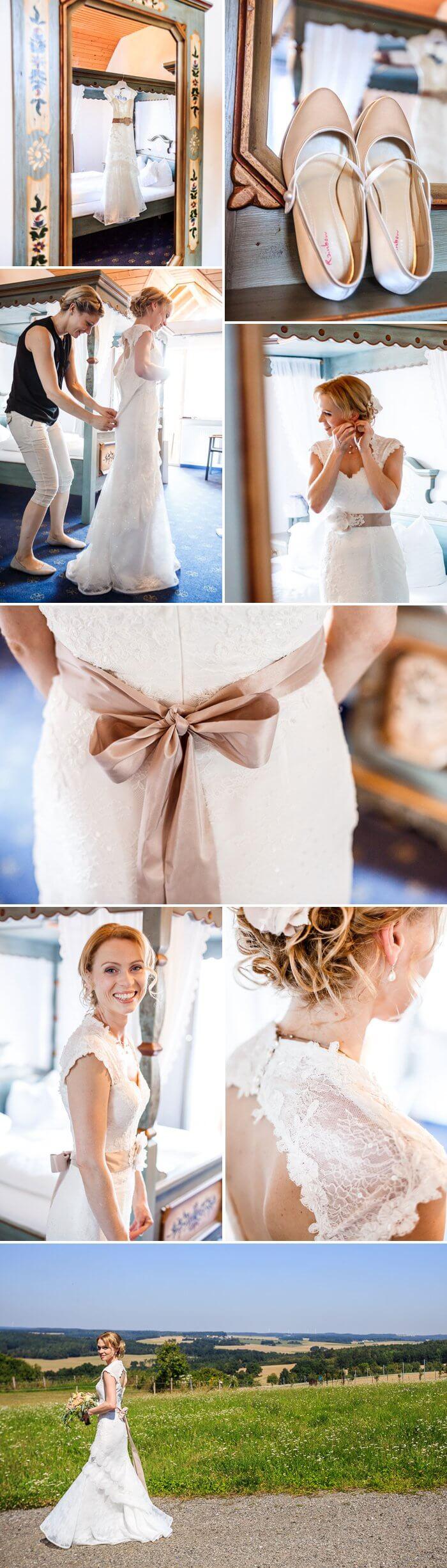 Braut Spitzenbrautkleid