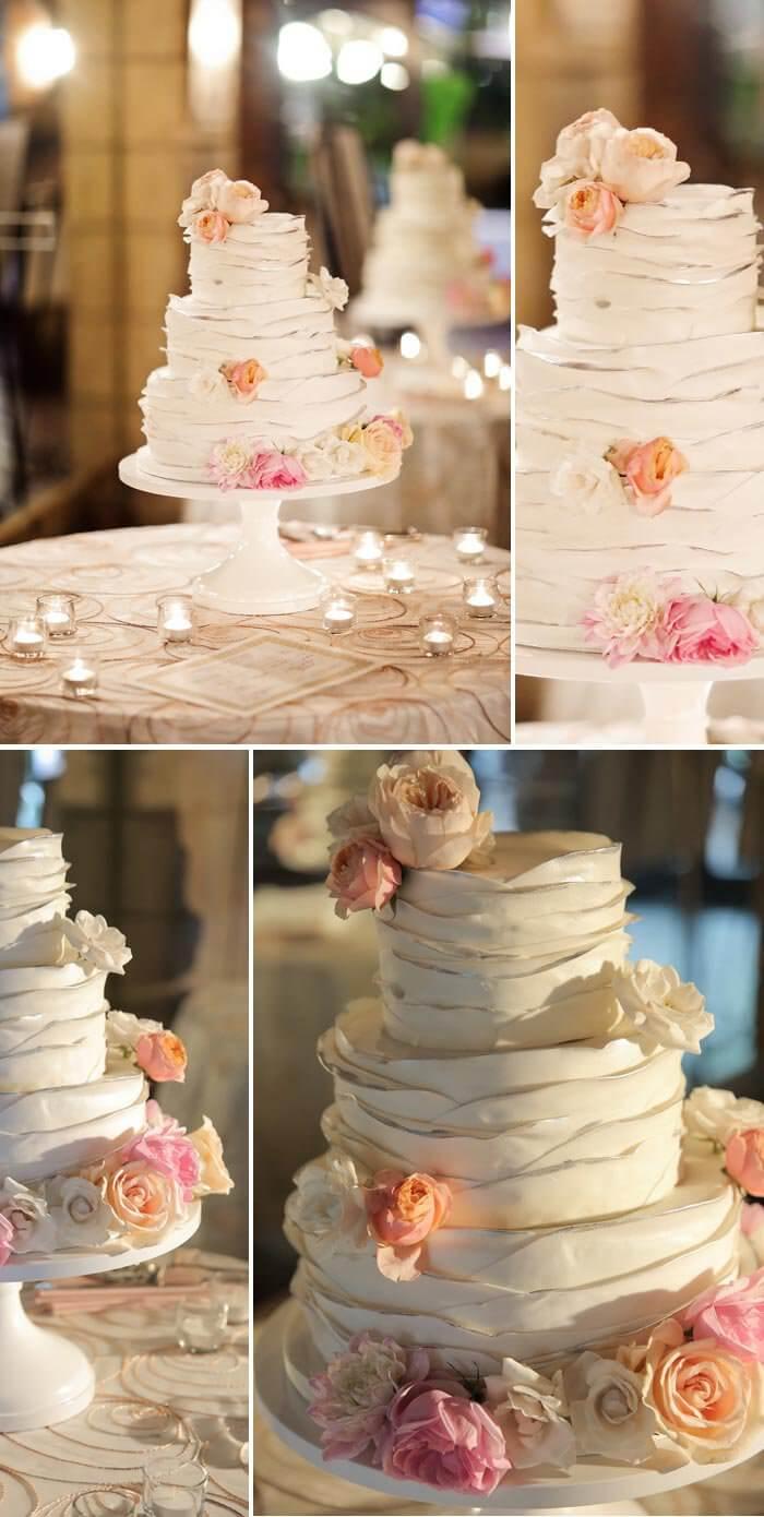 Hochzeitstorte Pastell