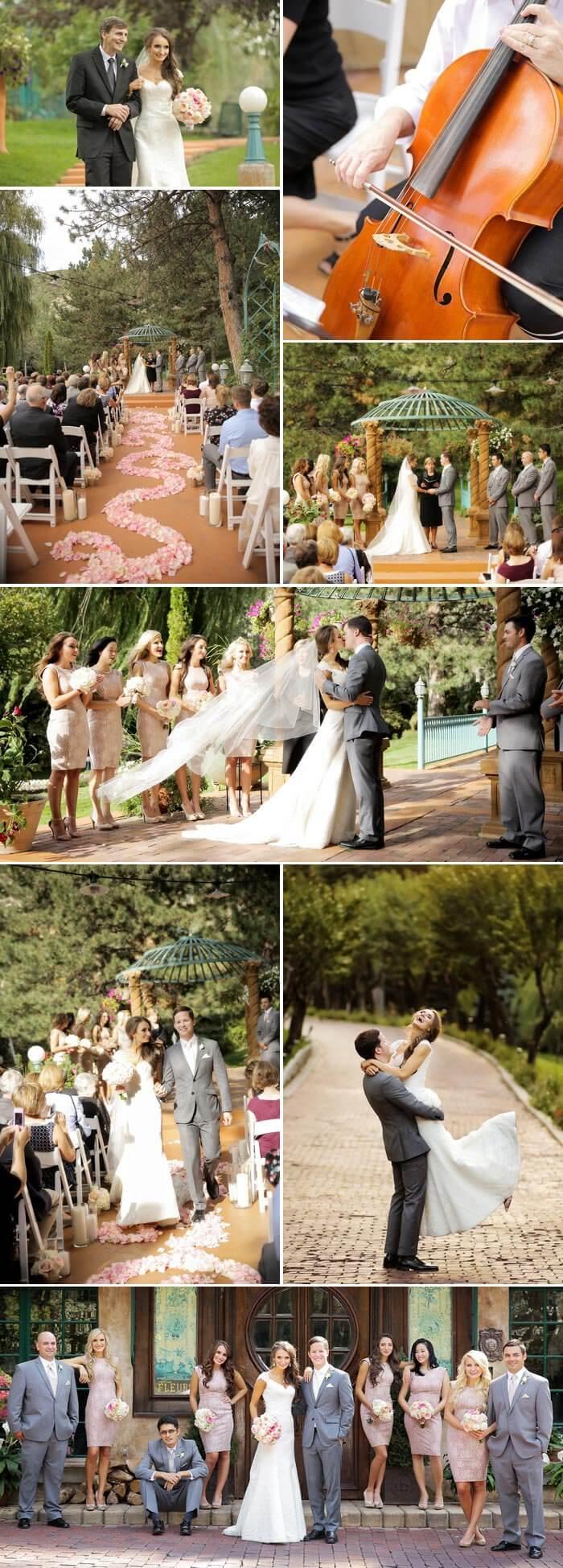 Pastellfarben Hochzeit