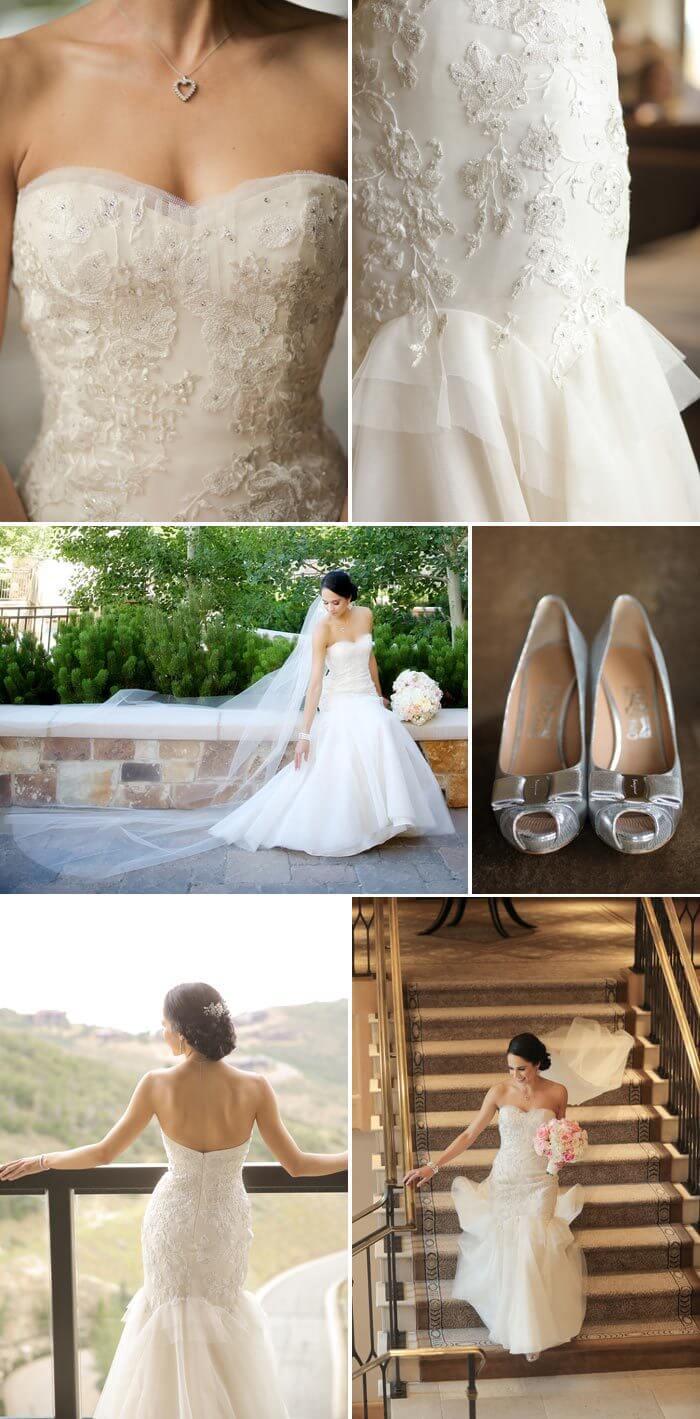 Spitzen Brautkleid