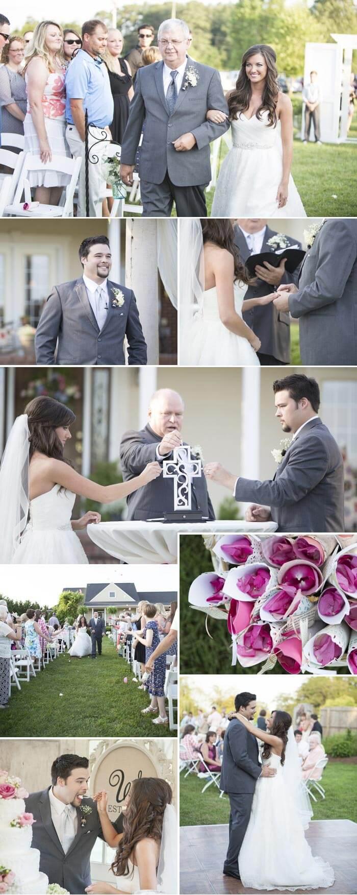 Vintage Hochzeit Trauung