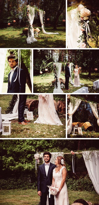 Kleine Hochzeitsfeier