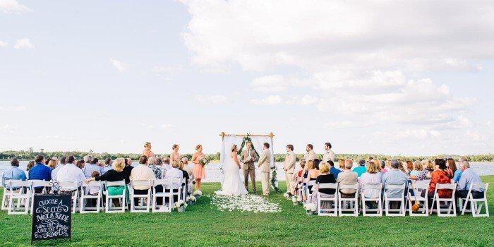 Hochzeit am Wasser