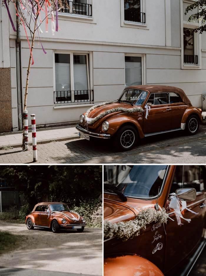 Käfer Brautauto