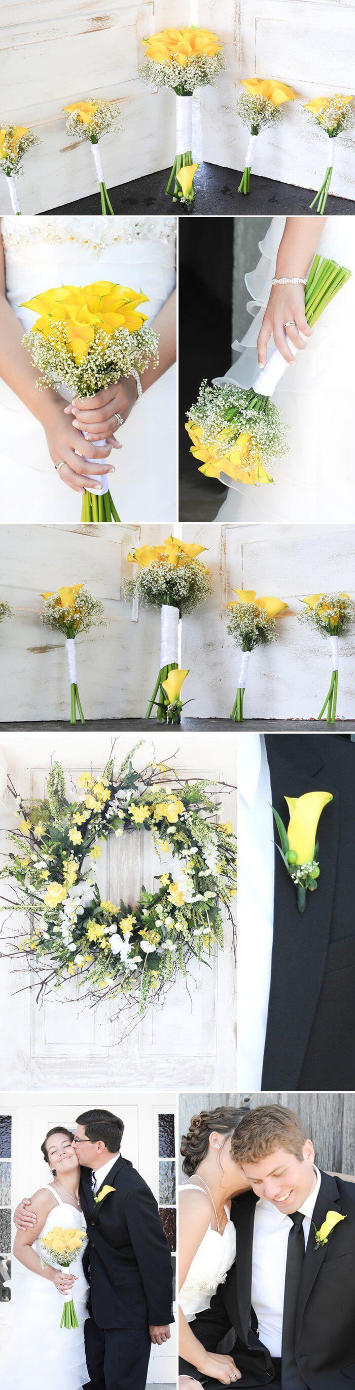 Blumen Sommer Hochzeit