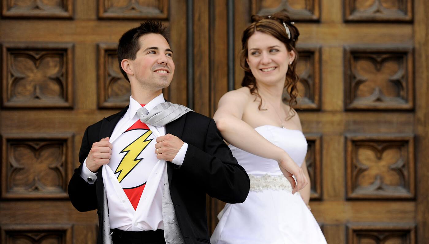 Marvel Hochzeit