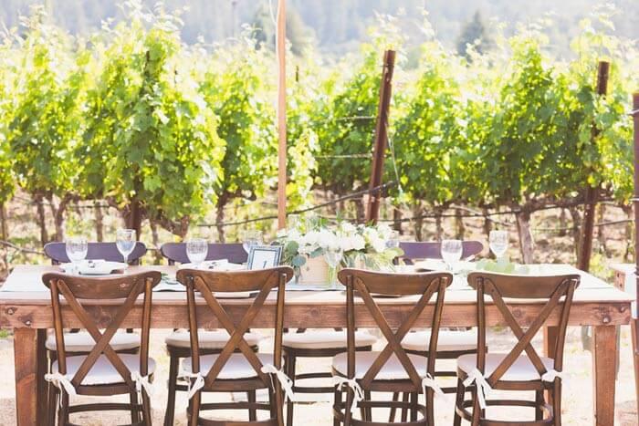 Heiraten auf dem Weingut