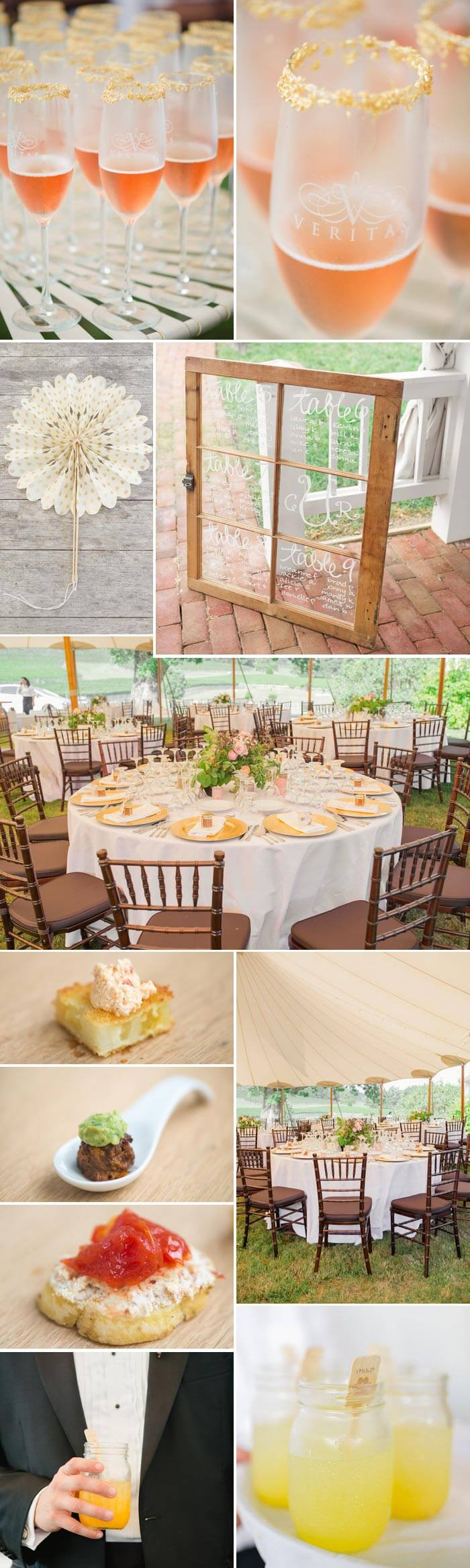 Zelt Hochzeit Tische