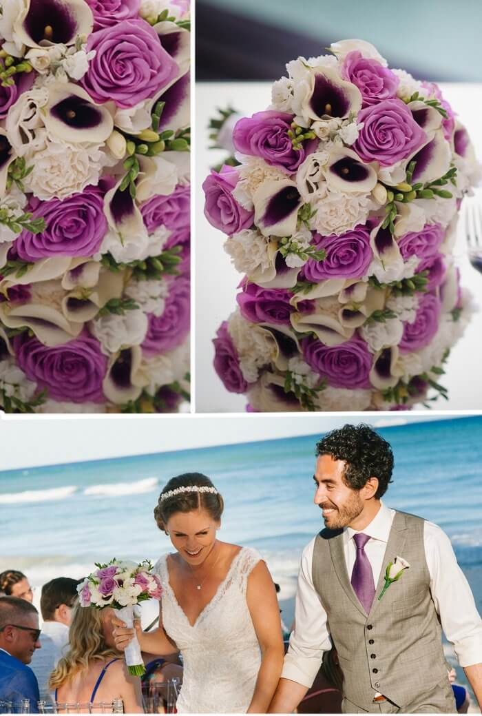 Brautstrauß Trauung am Strand