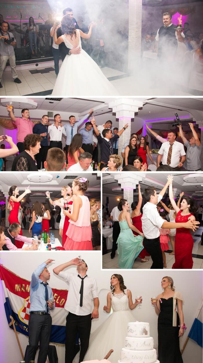 Kroatische Hochzeit Party