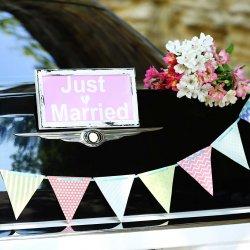 Deko Hochzeitsauto