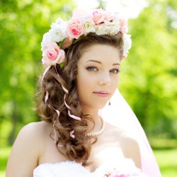 Brautfrisur Prinzessin