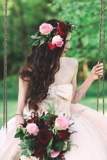 Hochzeitsfrisuren Lange Haare Offen Bildergalerie Mit Vielen Ideen