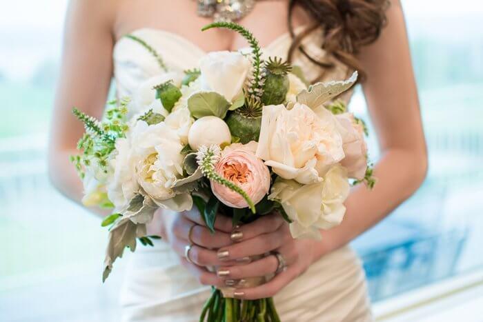 Brautstrauß Ranunkeln
