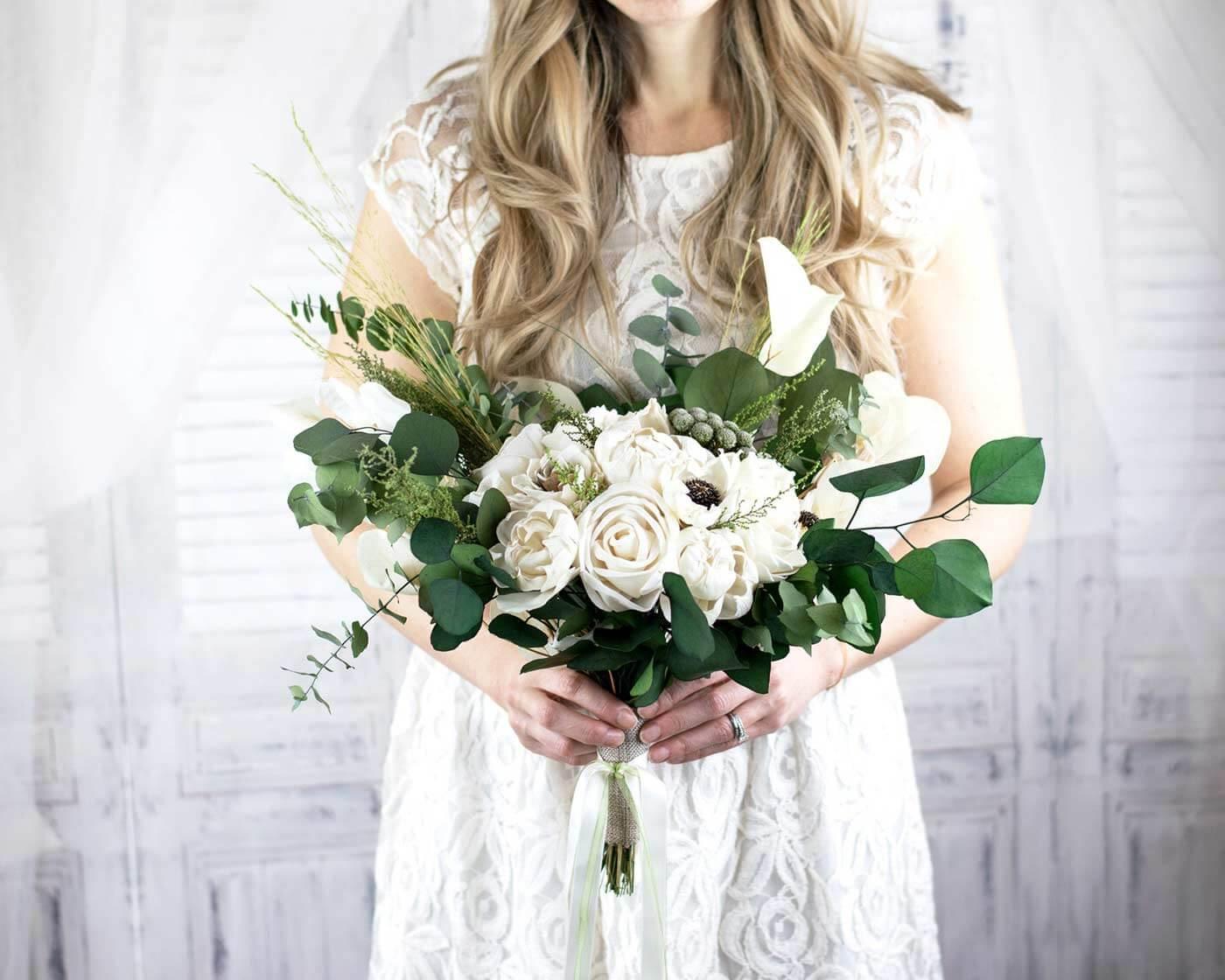 Brautstrauß künstlich online bestellen