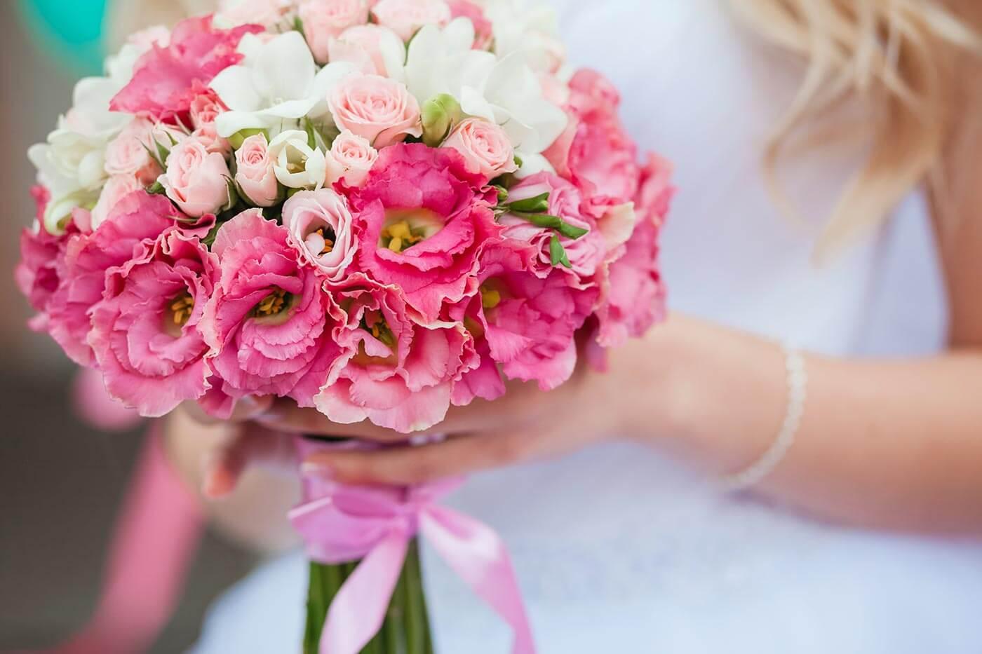 Hochzeitsstrauß Pink