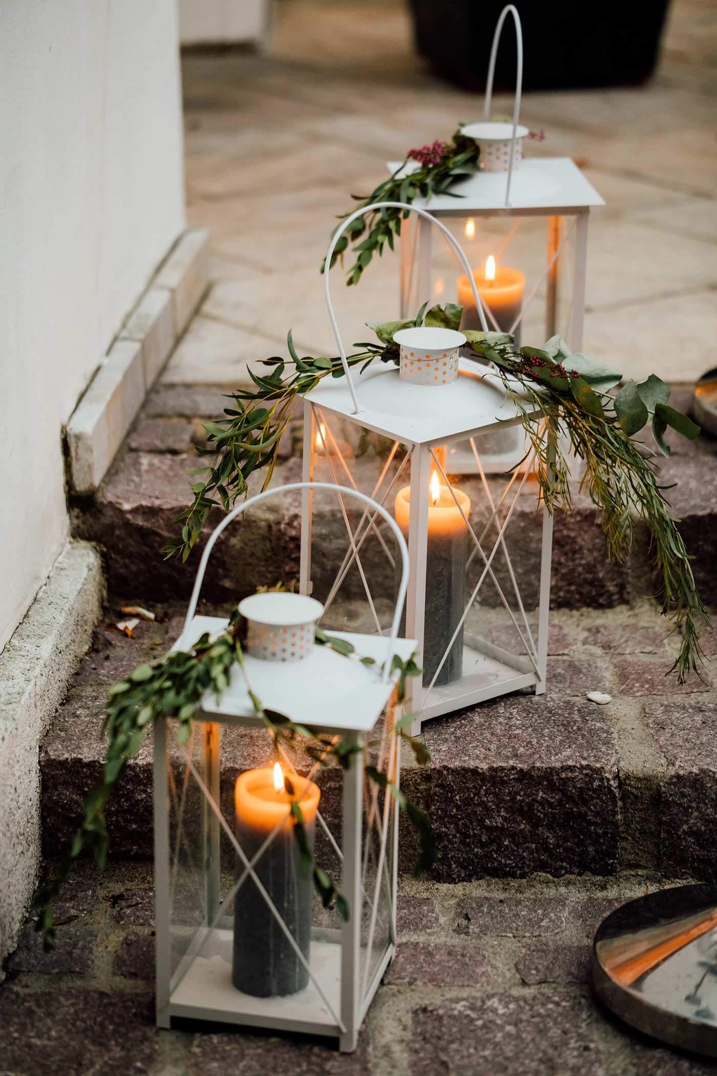Greenery Hochzeit Deko