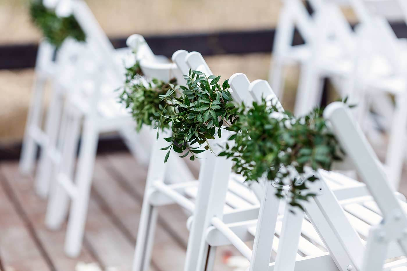 Greenery Hochzeitsdeko