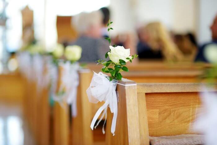 Kirchendeko Hochzeit