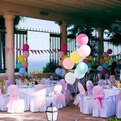 Luftballons Hochzeit Deko