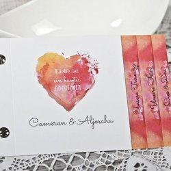 Hochzeitseinladung Aquarell