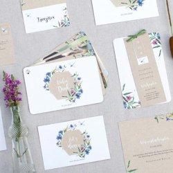 Hochzeitskarte gestalten