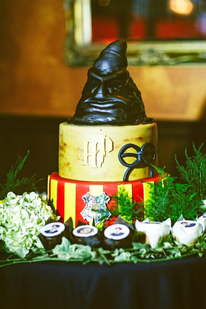 Hochzeitstorte Harry Potter