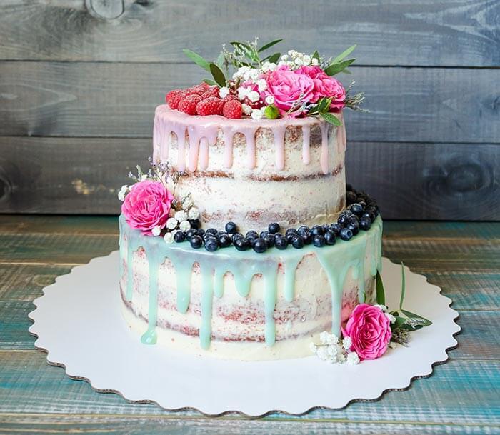 Hochzeitstorte Zuckerguss