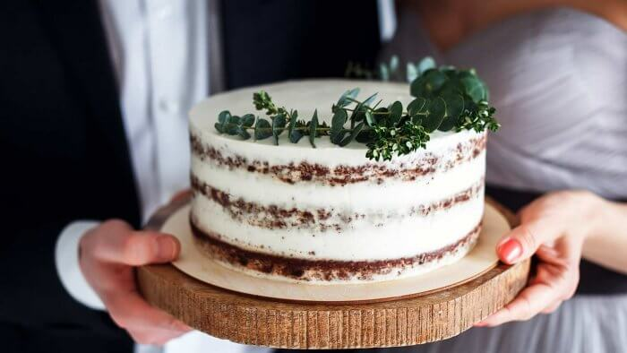 Naked Cake einfach