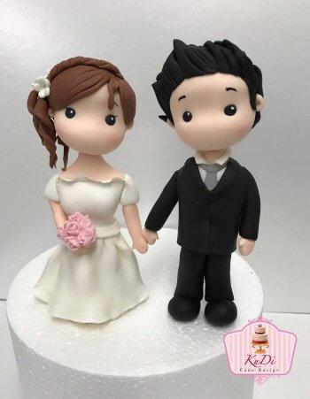 Tortenfiguren Hochzeit