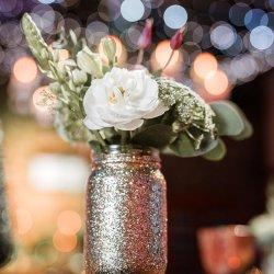 Goldene Hochzeit Tischdeko