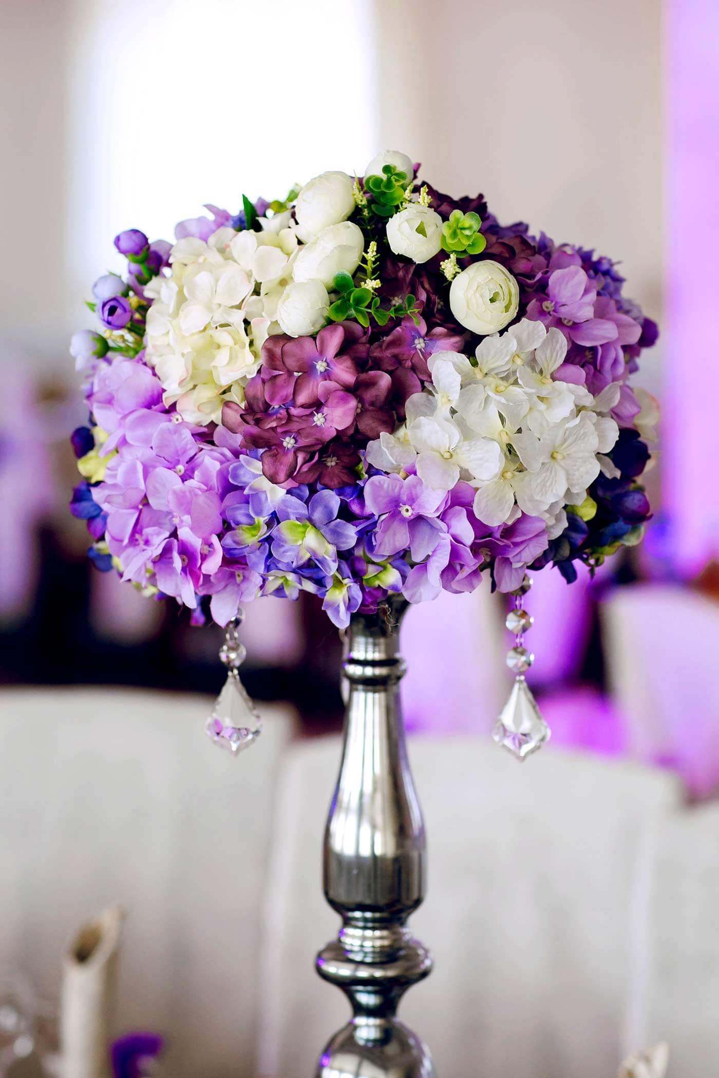 Hochzeitsdeko Hortensien