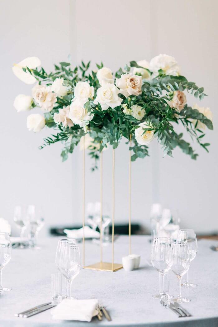 Hochzeitsdeko mit Eukalyptus