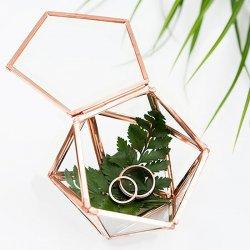 geometrische Ring Box