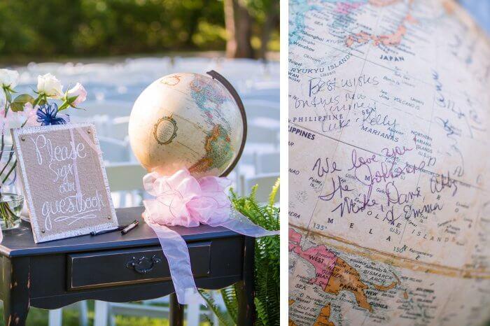 Globus Gästebuch
