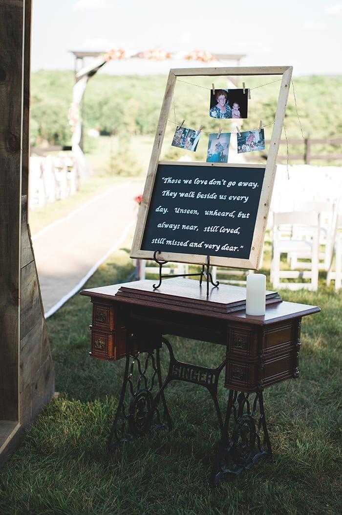 Hochzeit Verstorbene erinnern