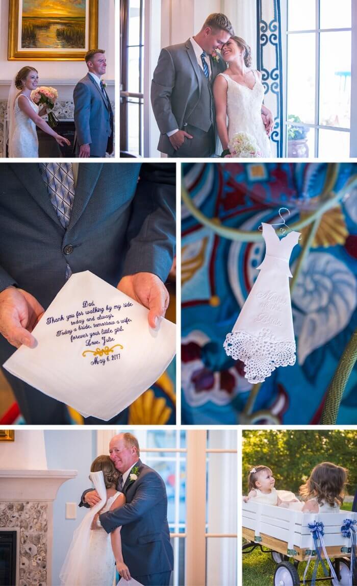 Hochzeitsdeko Dunkelblau