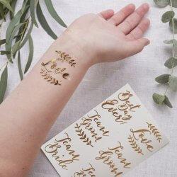 Braut Accessoire Tattoo